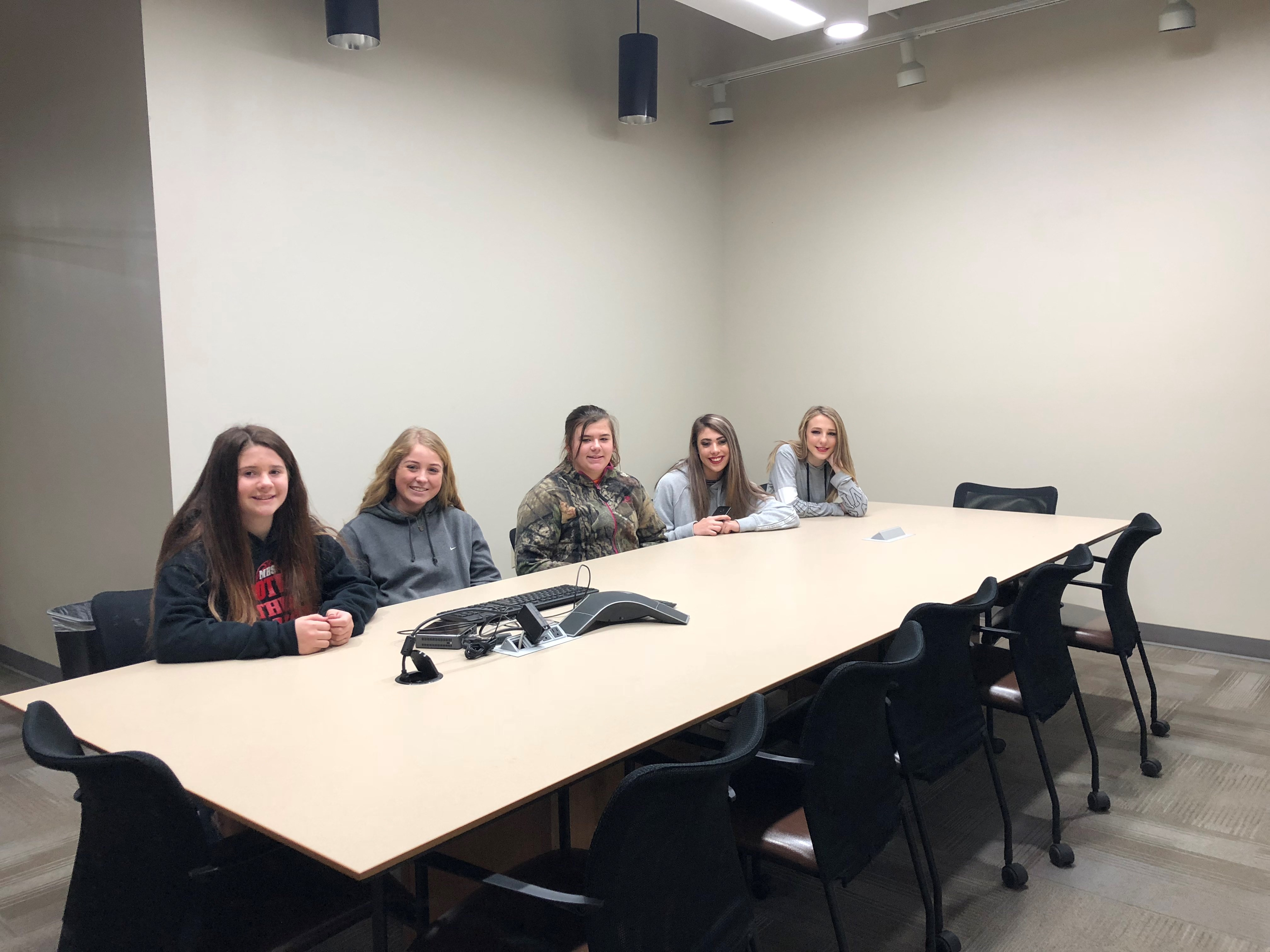 Mccurtain Gear Up Students Tour Connors State College